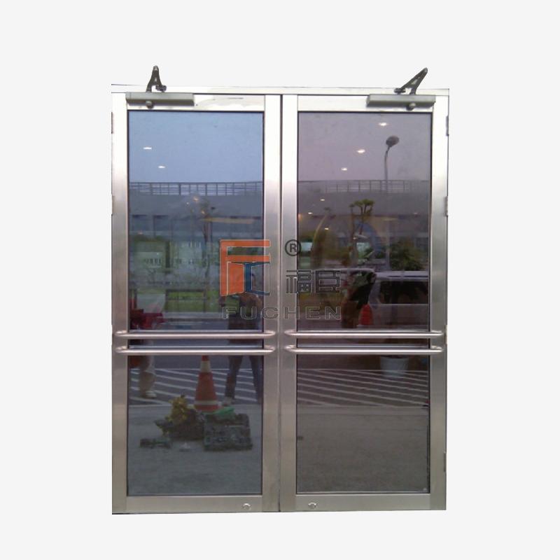 常州防火玻璃门