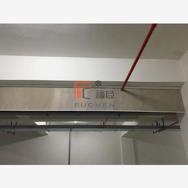 地下车库挡烟垂壁_翻板式挡烟垂壁_电动挡烟垂壁-无锡市福臣门业科技有限公司